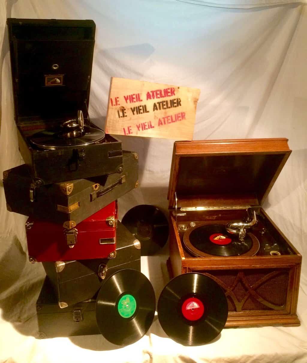 gamme de gramophones revisée