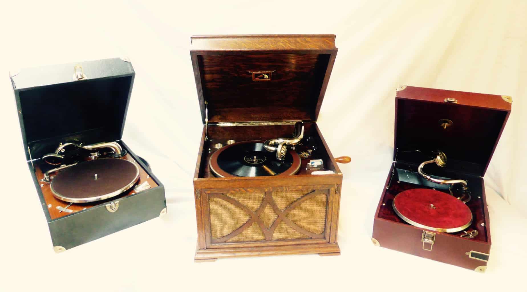 gramophones